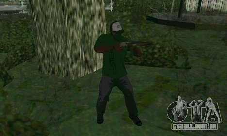 Novos recursos de armas para GTA San Andreas segunda tela