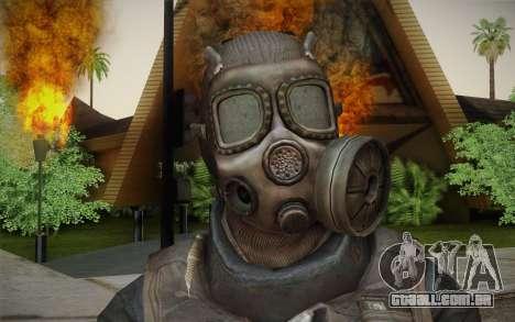 S.A.S Gas Mask para GTA San Andreas terceira tela