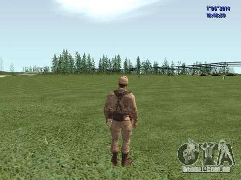 Afghanistan Soviet Soldiers para GTA San Andreas oitavo tela