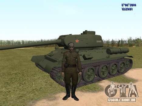 USSR Soldier Pack para GTA San Andreas segunda tela