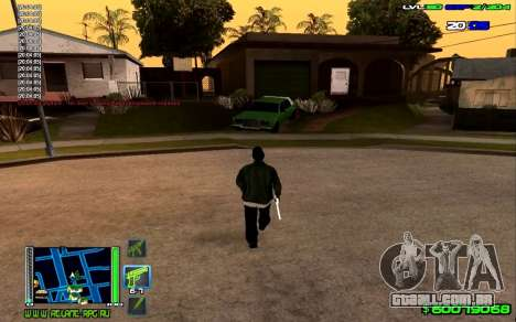 C-HUD Optimal para GTA San Andreas