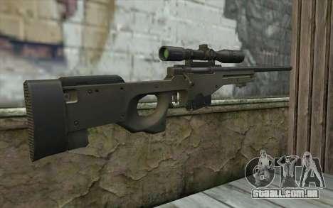 Arctic Warfare Super Magnum L115A1 para GTA San Andreas segunda tela