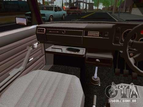 VAZ 2105 Riva para GTA San Andreas vista traseira