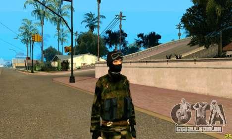 Fighter Alpha Antiterror para GTA San Andreas terceira tela