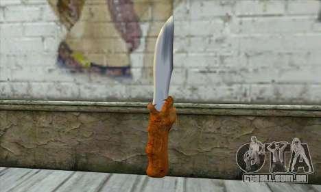 Colecionáveis faca para GTA San Andreas