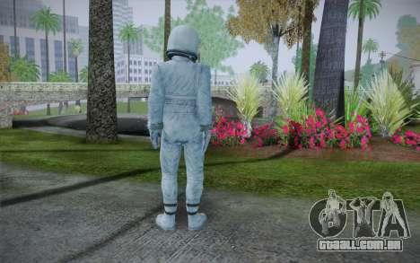 Spacesuit From Fallout 3 para GTA San Andreas segunda tela