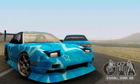 Nissan 240SX Blue Star para GTA San Andreas