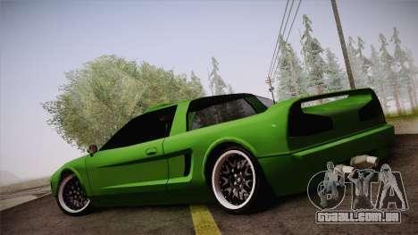 Infernus Racing Edition para GTA San Andreas esquerda vista