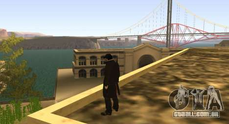 New Aiden Pearce para GTA San Andreas terceira tela