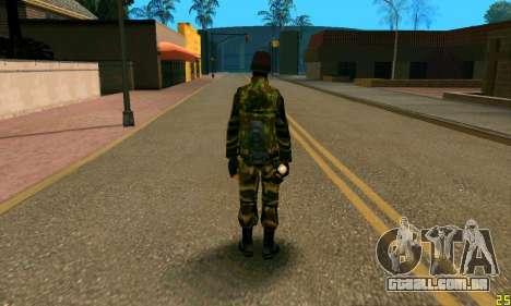 Fighter Alpha Antiterror para GTA San Andreas segunda tela