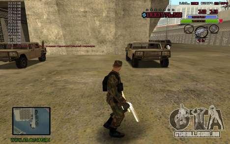 C-HUD by Mr.Bim para GTA San Andreas segunda tela