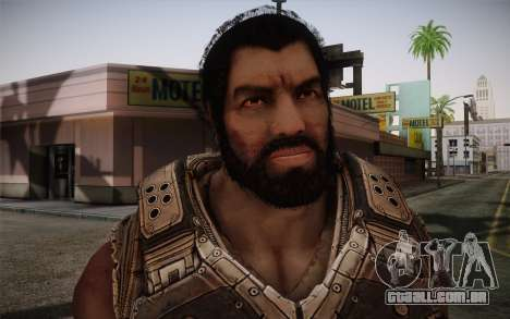 Dom From Gears of War 3 para GTA San Andreas terceira tela