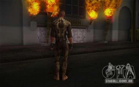 Tenente Nicolau Raine из Raiva para GTA San Andreas segunda tela