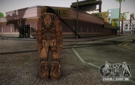 Dom From Gears of War 3 para GTA San Andreas segunda tela