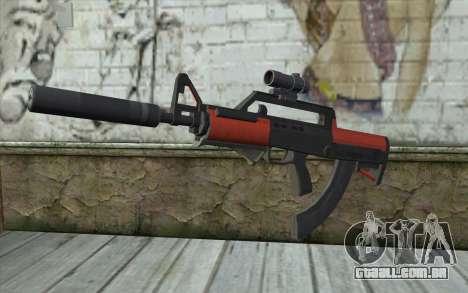 Rifle BullPup из GTA 5 para GTA San Andreas