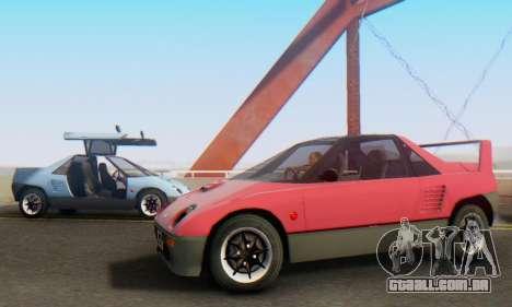 Mazda Autozam AZ-1 para GTA San Andreas esquerda vista