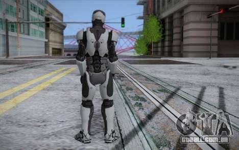RoboCop 2014 para GTA San Andreas segunda tela