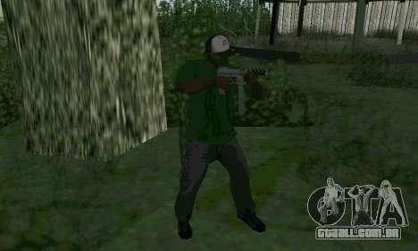 Novos recursos de armas para GTA San Andreas