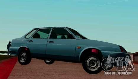 VAZ-21099 para GTA San Andreas esquerda vista