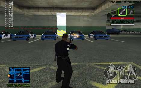C-HUD by SampHack v.2 para GTA San Andreas terceira tela