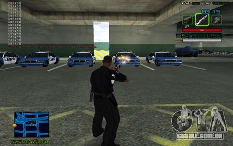 C-HUD by SampHack v.2 para GTA San Andreas terceira tela