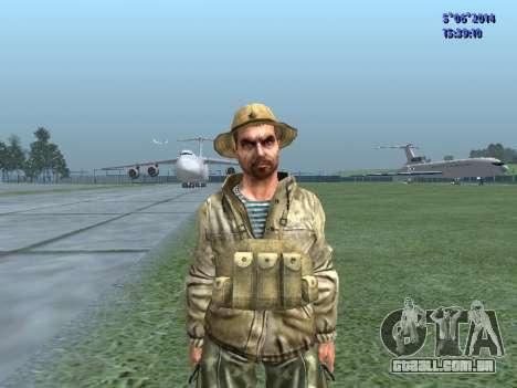 O airborne soldado da URSS para GTA San Andreas