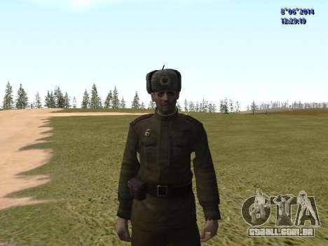 USSR Soldier Pack para GTA San Andreas quinto tela