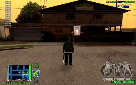 C-HUD Optimal para GTA San Andreas por diante tela