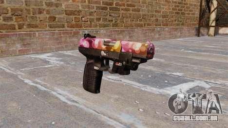 Arma FN Cinco sete Pontos LAM para GTA 4