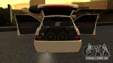 ESTES 2112 EM para GTA San Andreas esquerda vista