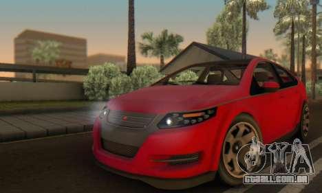 Cheval Surge V1.0 para GTA San Andreas vista superior