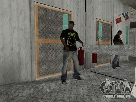 Novo Mike Nirvana e Kurt Cobain para GTA San Andreas segunda tela