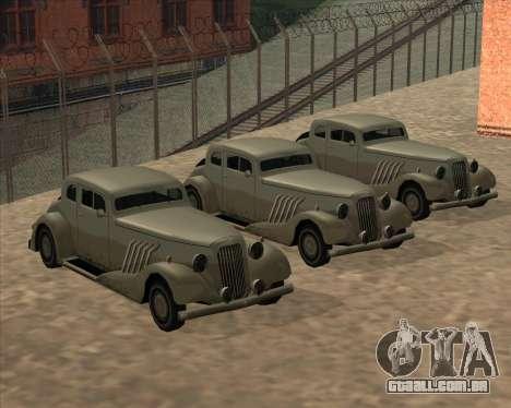 Carro Novo (Hustler) para GTA San Andreas traseira esquerda vista