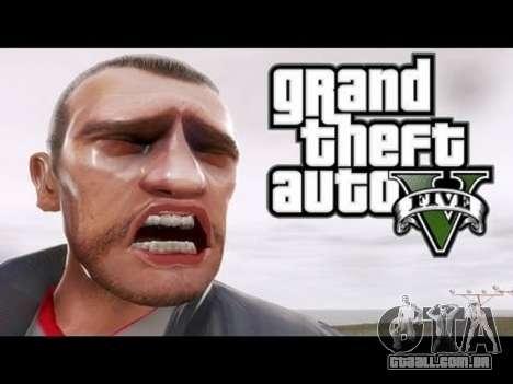 GTA 5 Niko Bellik terceiro screenshot