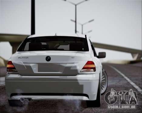BMW Alpina B7 para GTA San Andreas esquerda vista