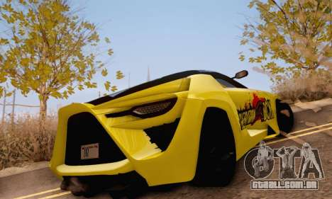 Bertone Mantide 2010 Rock Generation para GTA San Andreas vista direita