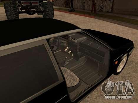 VAZ 2109 Gangster nove V 1.0 para GTA San Andreas