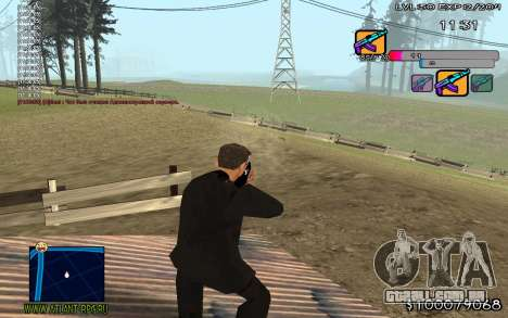 C-HUD Color para GTA San Andreas terceira tela