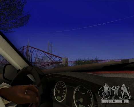 GAZ 31105 Tuneable para GTA San Andreas vista interior