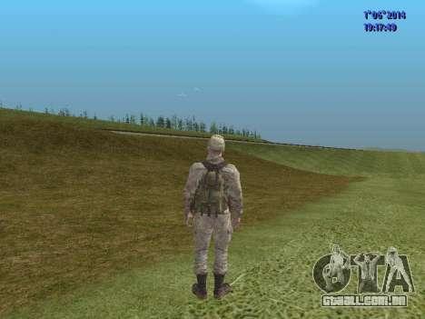 Afghanistan Soviet Soldiers para GTA San Andreas décima primeira imagem de tela