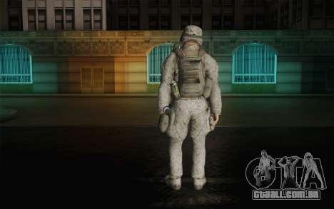 U.S. Marines para GTA San Andreas segunda tela