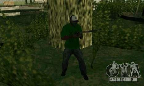 Novos recursos de armas para GTA San Andreas sexta tela