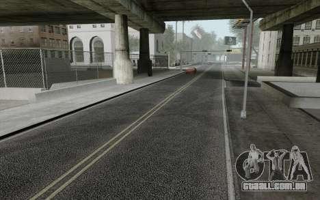 HD Roads 2014 para GTA San Andreas segunda tela