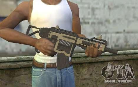 NS-11C Carbine from Planetside 2 para GTA San Andreas terceira tela
