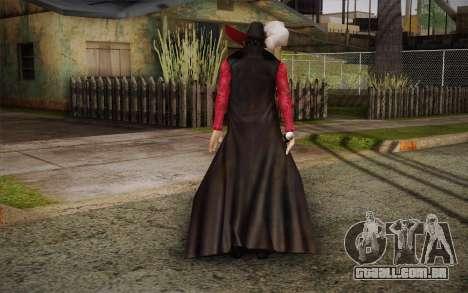 One Piece Dracule Mihawk para GTA San Andreas segunda tela