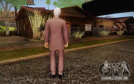 Leslie William Nielsen para GTA San Andreas segunda tela