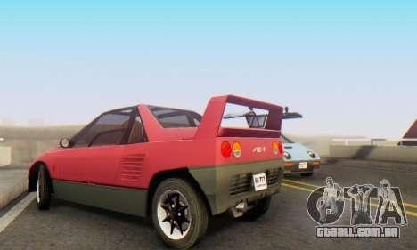 Mazda Autozam AZ-1 para GTA San Andreas vista interior
