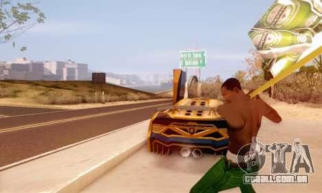 Um sinal de propaganda de cerveja para GTA San Andreas terceira tela