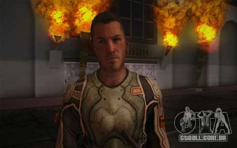 Tenente Nicolau Raine из Raiva para GTA San Andreas terceira tela