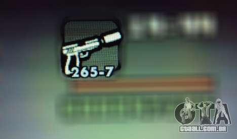 Novos recursos de armas para GTA San Andreas sétima tela
